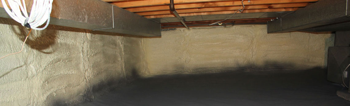 crawl space insulation in Vermont